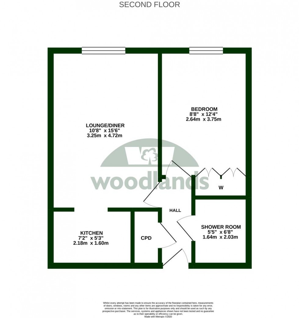 Floorplan for Mill Bay Lane, Horsham