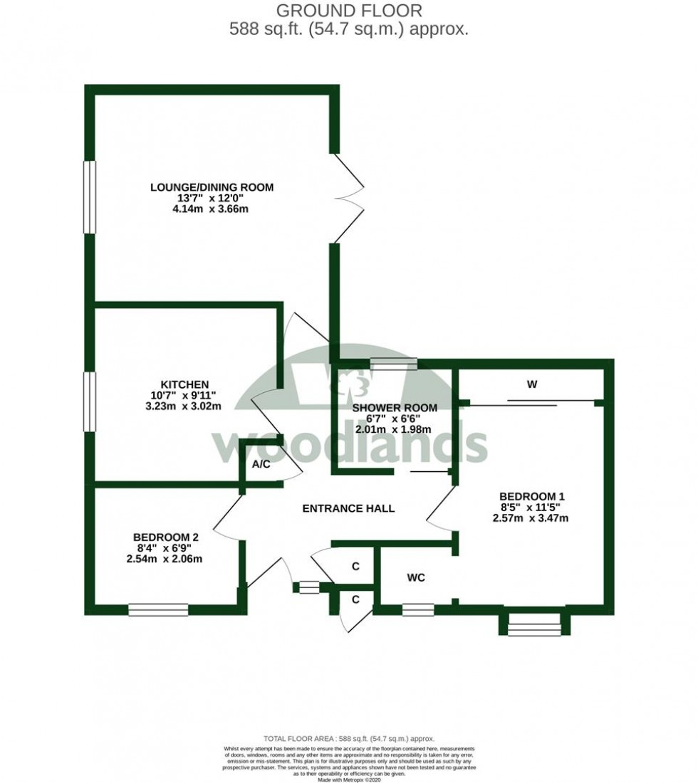 Floorplan for Ash Drive, Redhill