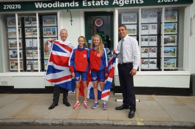 Horsham Girls Compete for GBR Team - Backed By Woodlands!